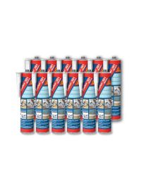 Sikaflex 291 - Gris - cartouche 300 ml - Lot de 12