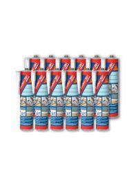 Sikaflex 291 - Bois - cartouche 300 ml - Lot de 12